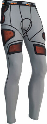 MOOSE Racing MX Motocross Men's XC1 Base Armor Underpants (Gray) S (Small)