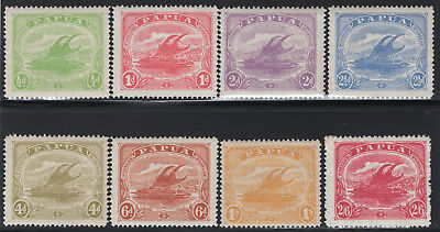 1911-15 Papua. SC#50-57 SG#84-91. Mint, Lightly Hinged, Very Fine.