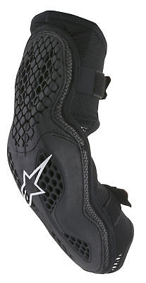 Alpinestars MX/Motocross SEQUENCE Elbow Protector (Black/Red) 2XL (2X-Large)