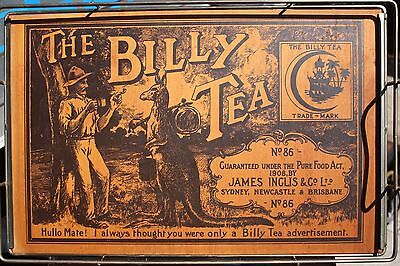 Rare Billy Tea, Tea Tray