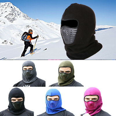 Ski Mask Full Face Cover Winter Thermal Fleece Warm Anti-dust Baclava Popular