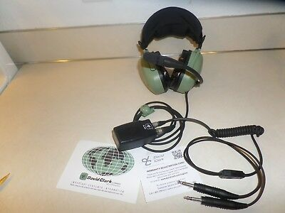 Newother David Clark H20-10X Pilot Noise Cancelling Headset Airplane Headphones