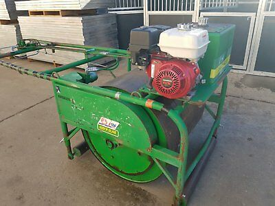 Mentay Cricket Pitch Roller Smooth Drum Lawn Turf