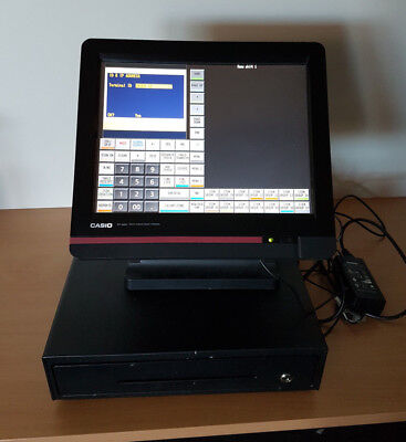 "Casio QT 6600 15"" Touch Screen Smart POS Terminal & Cash Drawer"