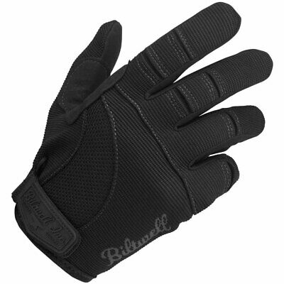 Biltwell Inc Moto MX Offroad Mechanic Motorcycle Gloves (Black) S (Small)