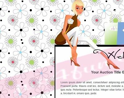 Shopping Break Auction Template eBay Listing Template Store Template