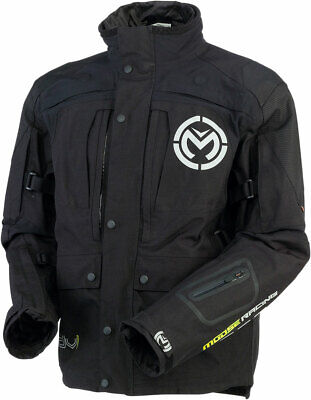 MOOSE Racing Adventure Touring Dual Sport 2016 ADV1 Jacket (Black) L (Large)