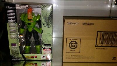 S.H. Figuarts Dragonball Z Android 16 action figure Tamashii Bandai (opened)