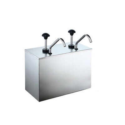 New Arrival Topping Dispenser with Two Standard Pumps and Jars For Commercial