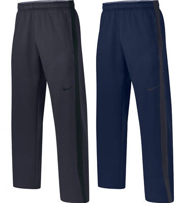 Nike Mens Team KO Dri-Fit Therma-Fit Training Pants Black/Navy New