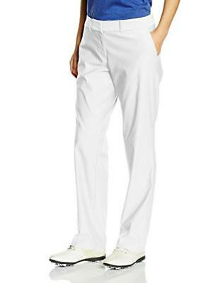 (TG. EU 38 (UK 10 / US 6)) Nike Tournament- Pantaloni Donna, colore Bianco, tagl