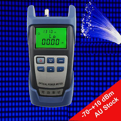 New Fibre Optic Power Meter -70~+10 dBm Fibre Optic Power Meter Measuring Device