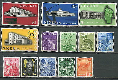 Nigeria Scott #101-13 mint MH