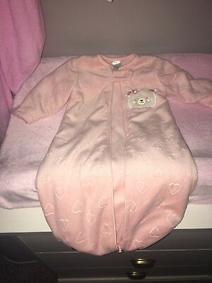 *New* Chick Pea 3-6 Month Sized Thick Pink Sleep Sack NO TAGS
