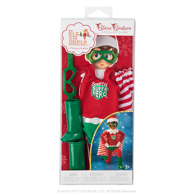The Elf on the Shelf Claus Couture Collection Superhero