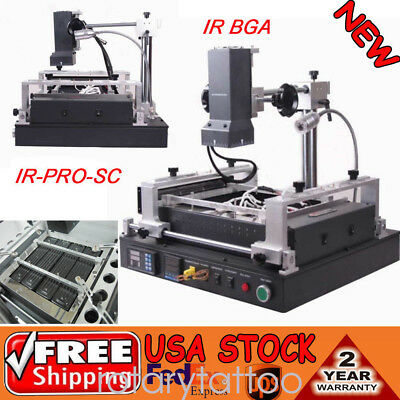 IR-PRO-SC Infrared IR SMD & BGA Rework Station Soldering Welder Repair Machine