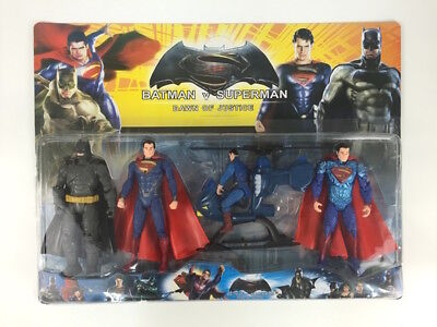 Batman vs Superman Dawn of Justice Figure Kids Gift with Light & Helicopter