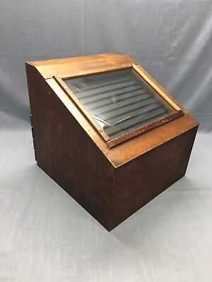Vintage Counter Top Display Case Jeweler Watches  Coins Show Case Collectors