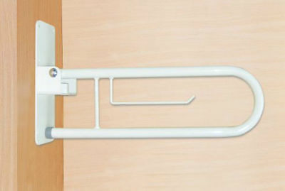 Disabled Toilet WC Folding Grab Rail / Support Arm