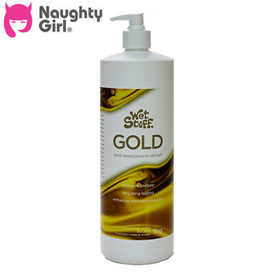 Wet Stuff Gold 1kg From Naughty Girl