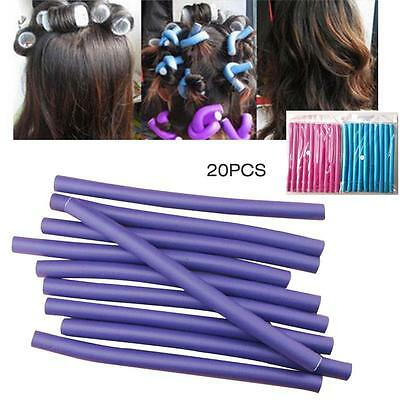10 Pcs Hair Curlers Makers Soft Foam Rollers Bendy Twistee Sponge DIY For Women