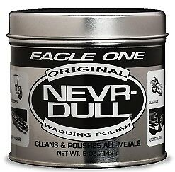 Eagle One Never Nevr Dull Wadding Polish 142gr Non-Abrasive Safe For All Metals
