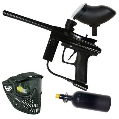 Azodin Centurion HP Paintball Markierer Set - black