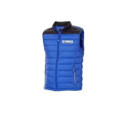 Genuine Yamaha Apparel Paddock Blue Men's Oita Bodywarmer New For 2018