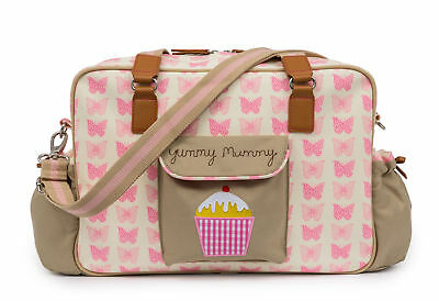 Pink Lining Sac à langer Yummy Mummy rose papillons