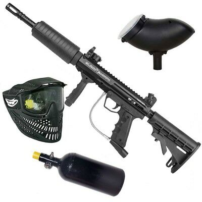 "Valken SW-1 Blackhawk ""Foxtrot Rig"" HP Paintball Markierer Set"