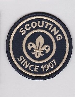 SCOUTING SINCE 1907 BADGE - Establishment of Scouting Worldwide by Baden-Powell