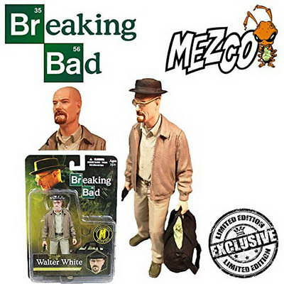 BREAKING BAD WALTER WHITE Summer Outfit 15cm Figur SDCC 2014 Exclusiv Heisenberg