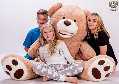 GIANT LARGE BIG HUGE TEDDY BEAR XXL 140/160/180/200/220/240/ 270cm BEIGE