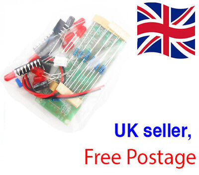EDUCATIONAL NE555 & CD4017 LED Light Chaser Module DIY Kit UK SELLER