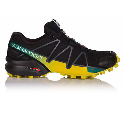 Salomon Speedcross 4 Mens Black Trail Running Road Sports Shoes Trainers