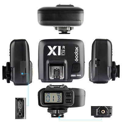 GODOX X1R-C TTL 2.4G Wireless Flash Transmitter Trigger Receiver fr Canon EOS 7D
