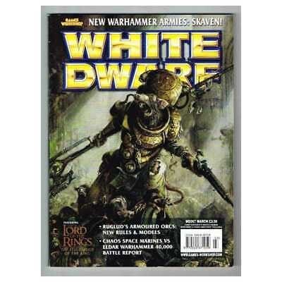White Dwarf Magazine No.267 March MBox2856/A Ruglud's Armoured Orcs: New Rules &
