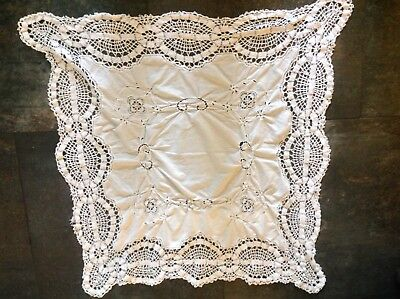 Large Mixed Selection Of Antiqu/vintage Linen Lacework Craft/trim