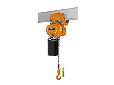 6,600 lbs. 3 Ton. 30 ft Lift Height Electric Chain Hoist Power Trolley G100