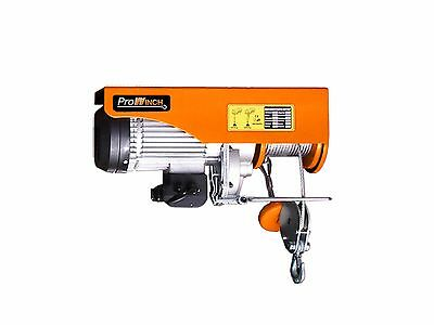 Prowinch 1320 lbs. Electric Rope Hoist 110~120V 60HZ w/ Emergency Stop