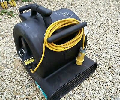 Truvox Air Mover Carpet And Floor Dryer - 110v - Multispeed