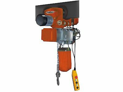 PROWINCH 2200  Lbs - 1 Ton Electric Chain Hoist with Power Trolley 110 ~ 120V