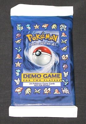 Pokemon Cards Demo Pack SEALED E3 Shadowless