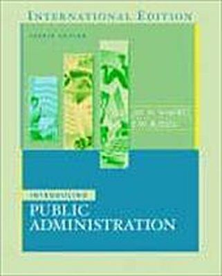 Introducing Public Administration [Taschenbuch] by Russell, E. W.  Shafritz ...
