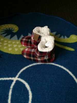 Baby Boys Slippers 12-18 Months