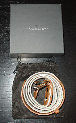 "IWC Gürtel ""Portofino Riviera Beach Belt"" in L! NEU! IWC belt in size L NEW! TOP"