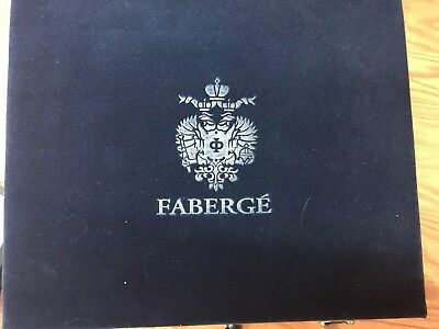 Faberge Lausanne Vodka Shot Glass Case