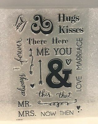 Ctmh my acrylix mr mrs wedding greetings words c1621 acrylic ctmh my acrylix mr mrs wedding greetings words c1621 acrylic rubber stamps m4hsunfo