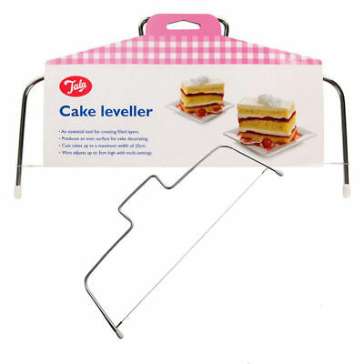 "Tala Cake Leveller Up To 10"" / 25Cm Cakes,levels, Tortes,layers, Adjustable Wire"