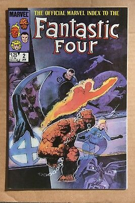 The Official Marvel Index to the Fantastic Four 2